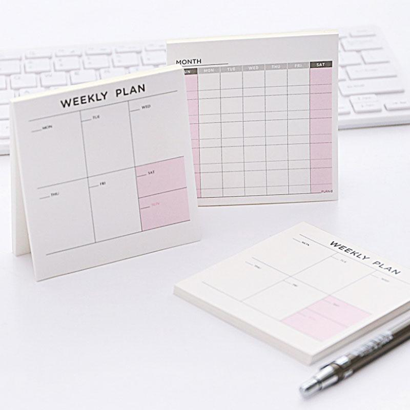 Best 2018 New Agenda Weekly Monthly Work Diary Notepad , Day Planner