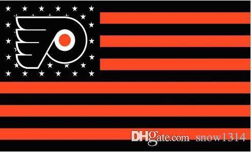 2019 Philadelphia Flyers Flag Star And Stripe Flag Banner 150CM*90CM
