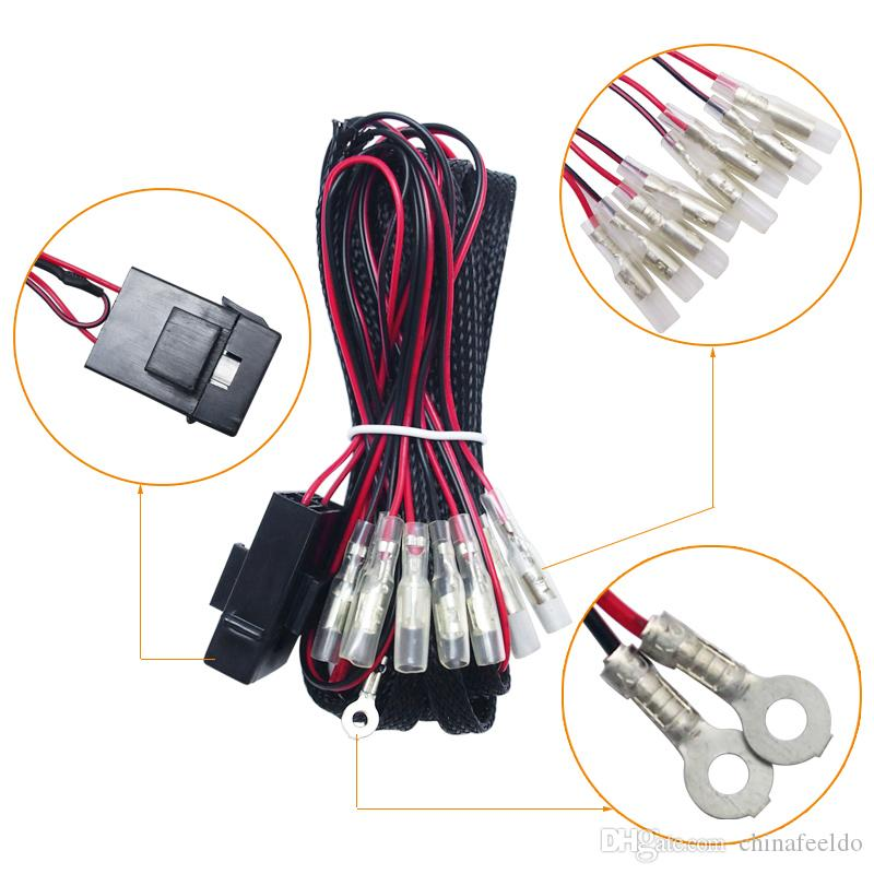 Angel Eyes Wiring Harness Kit Wiring Diagram