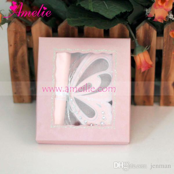 Wholesale Handmade Small Size Butterfly Wedding Card Kids Baby