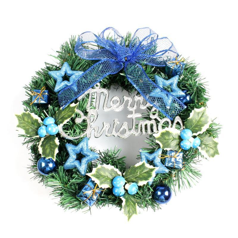 Creative DIY Handmade Christmas Wreath Decoration Funny Christmas