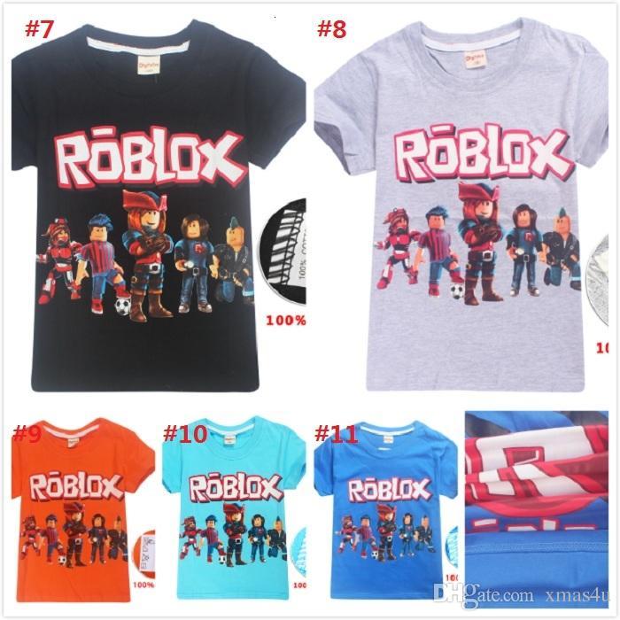 2018 Summer Boys T Shirt Roblox Stardust Ethical Cotton Cartoon T