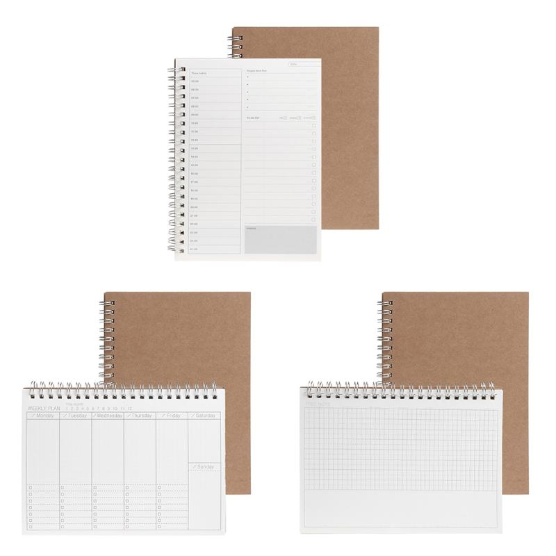 2019 Planner Book Monthly Weekly Daily Agenda Schedule Blank Diary