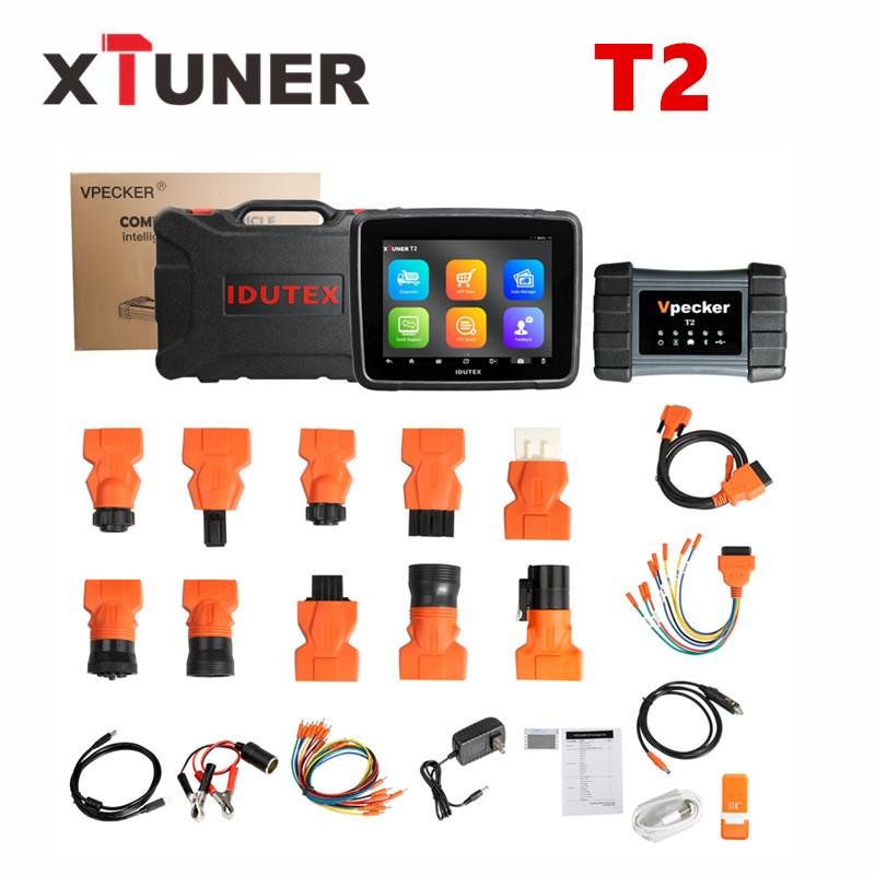 XTUNER T2 Diagnostic Tool For Heavy Duty Truck And Commercial