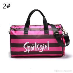 Small Of Pink Duffle Bag