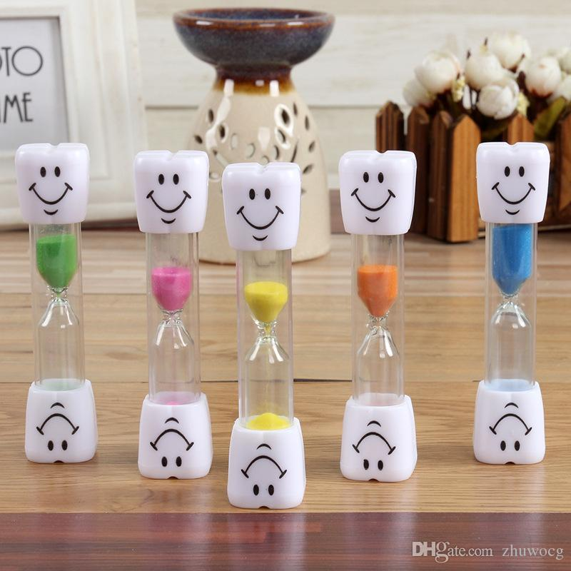 2018 2018 Hot Sale Toothbrush Timer ~ 3minute Smiley Sand Timer For