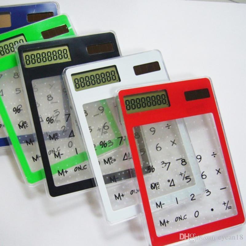 Stationery Card Portable Calculator Mini Handheld Ultra-thin Card