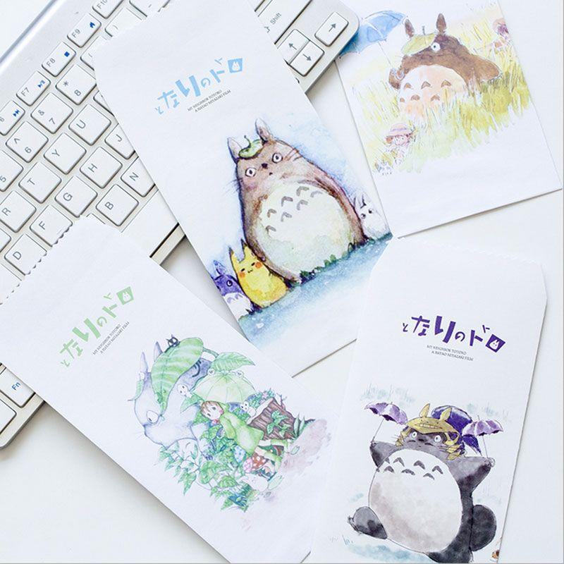 2018 Totoro Envelope Letterhead Office Stationery Writing Paper - birthday letterhead