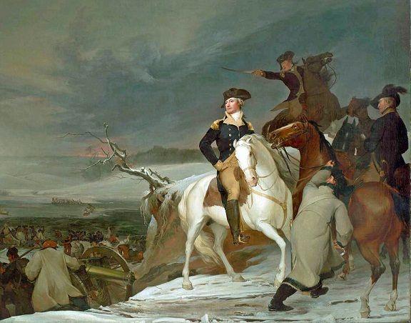2019 Revolutionary War Art George Washington Crossing The Delaware