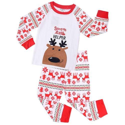 Medium Of Boys Christmas Pajamas