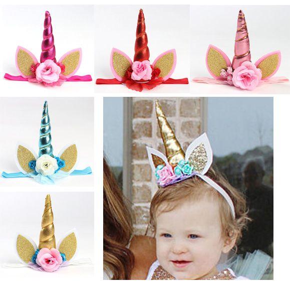 Kids Unicorn Headband Children Girls Unique Unicorn Headwear With
