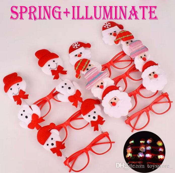 Led Toy Christmas Hot Sale Christmas Glasses Christmas Decorations