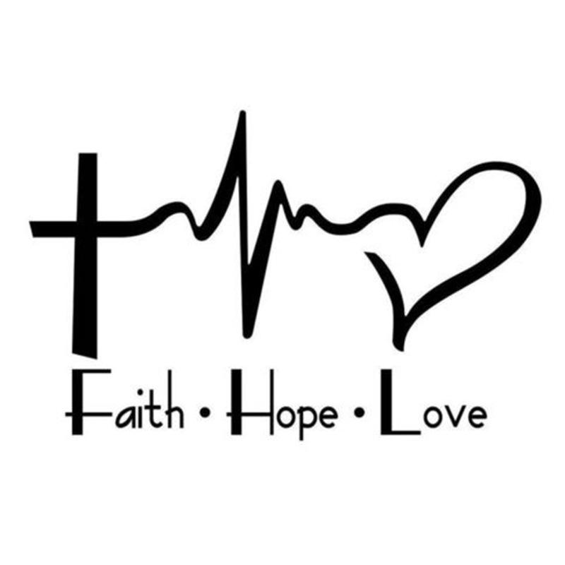 Lifeline Quotes Wallpaper 2018 Faith Hope Love Vinyl Decal Sticker For Car Or Truck