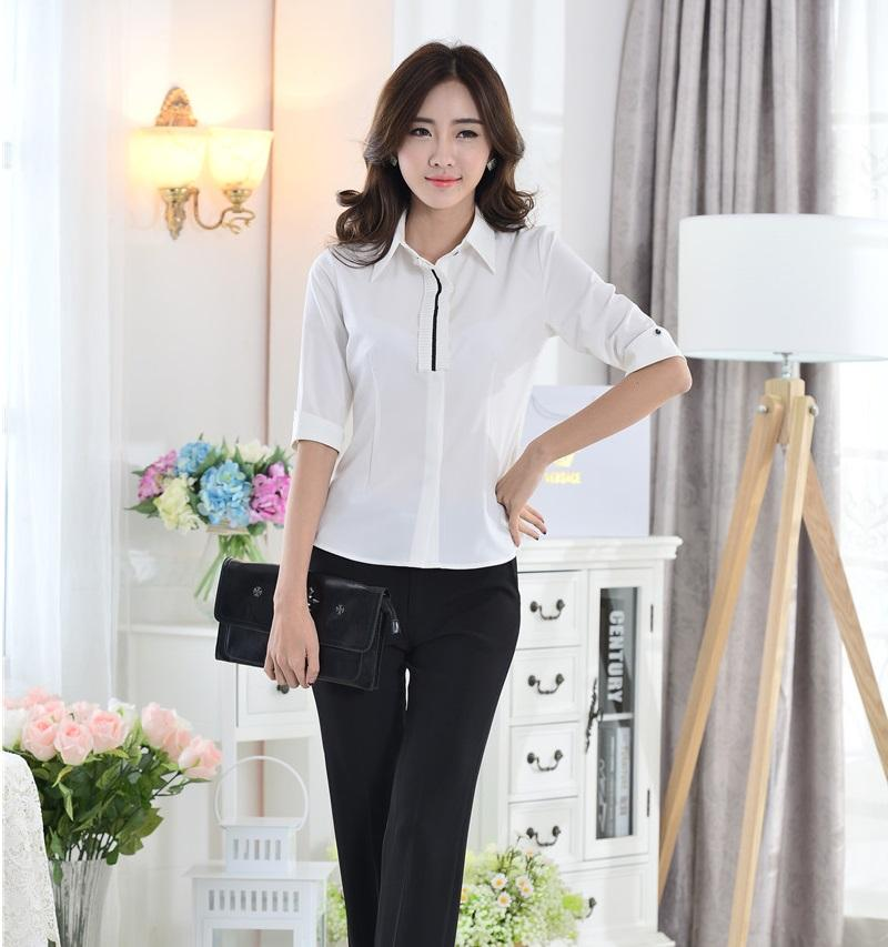 2018 Fashion Pantsuits Women Work Wear Suits With Pant And Top Sets
