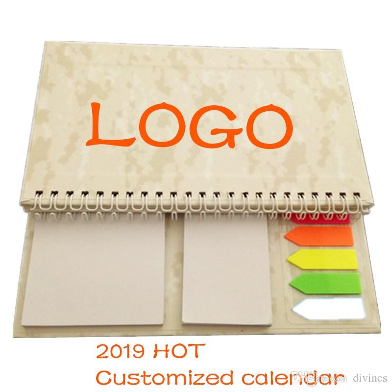 2019 2019 LOGO Free Desk Calendar Customized Calendar Paper Office