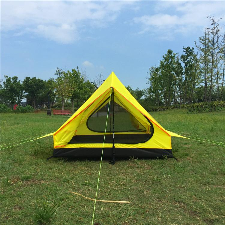 16kg Outdoor Camping Single Layer Tents Without Rods Portable