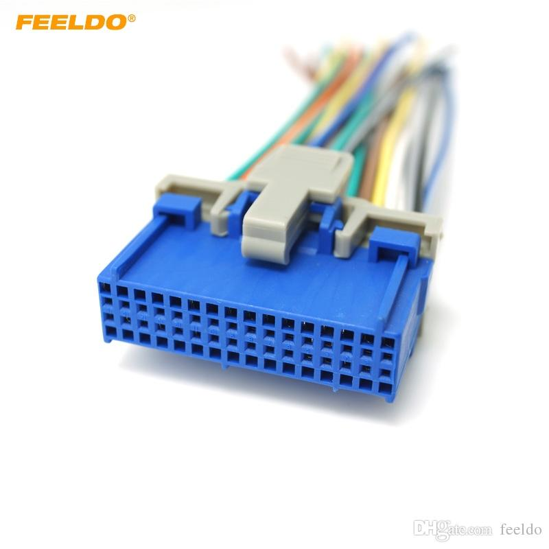 2019 FEELDO Car Audio Stereo Wiring Harness For Buick/Cadillac