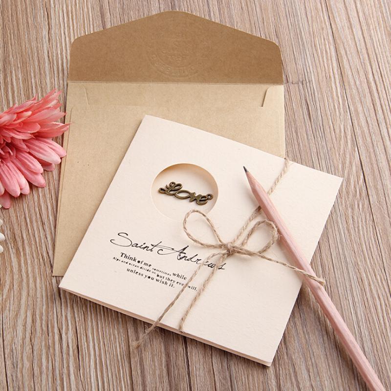 2019 Envelopes W/ Blank Gift/Greeting/Thankyou/Invitation Card For