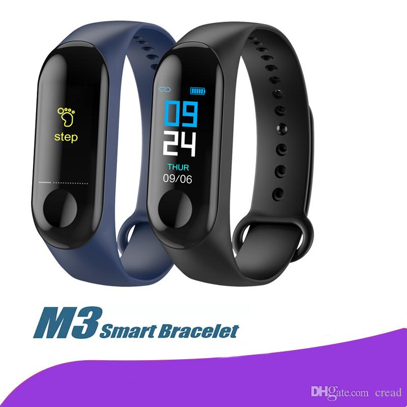 M3 Smart Band Blood Pressure Fitness Tracker Pedometer Heart Rate