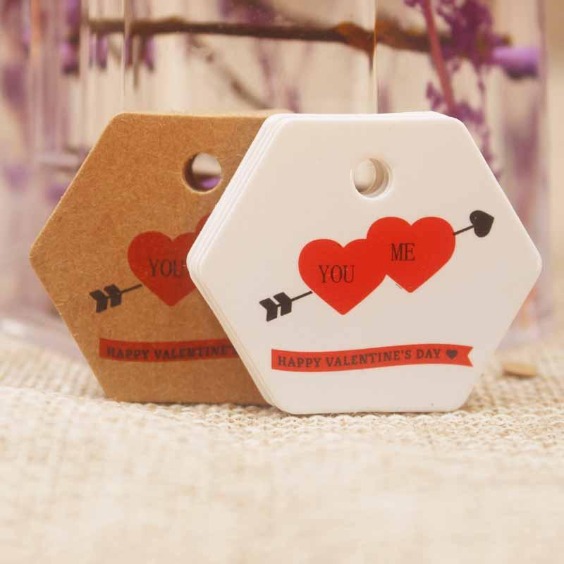 2019 New Arrival Happy Valentines Day Decoration Tag Sweet Heart W