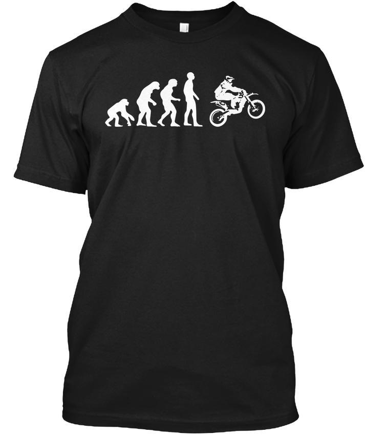 Mens Designer T Shirts Shirt Funny Motocross Dirt Biker Lovers Gift
