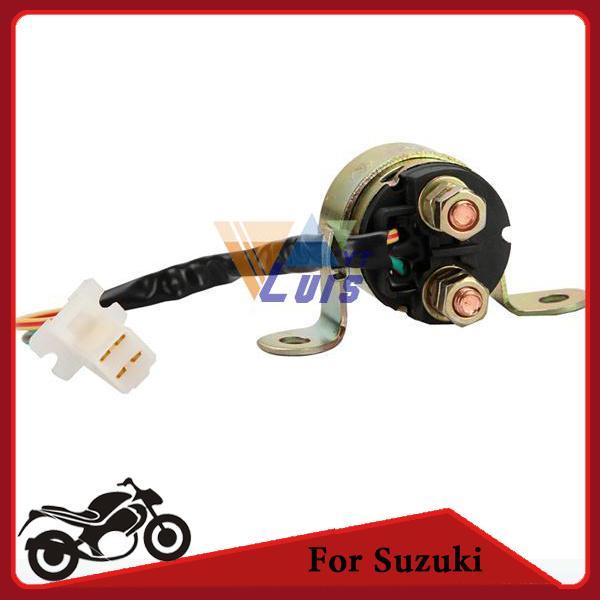 2019 2 Wire Plug Motorcycle Starter Relay Solenoid For Suzuki