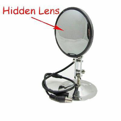 480tv Line Waterproof Convex Hidden Camera Mirror With