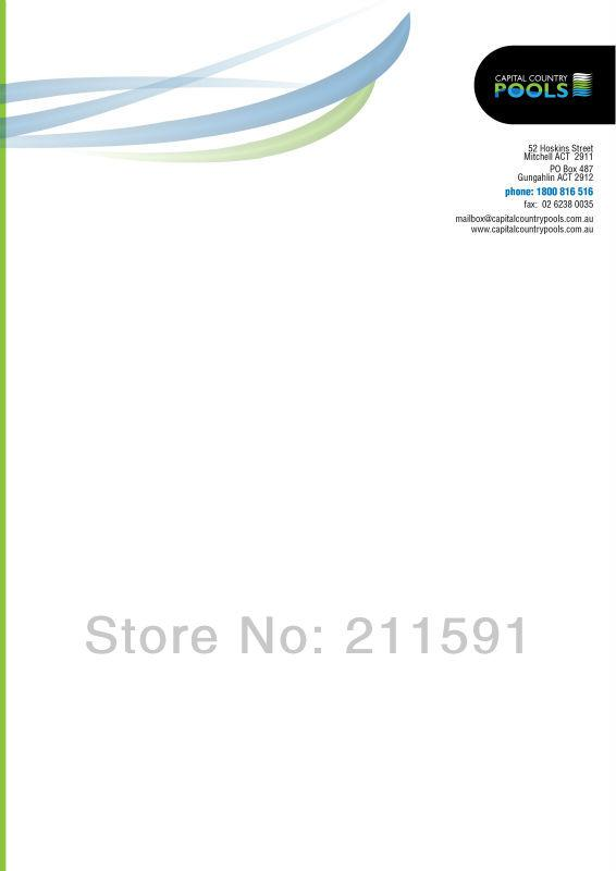 Wholesale Official Letterhead, Printed Letterheads, A421*297cm - official letterhead