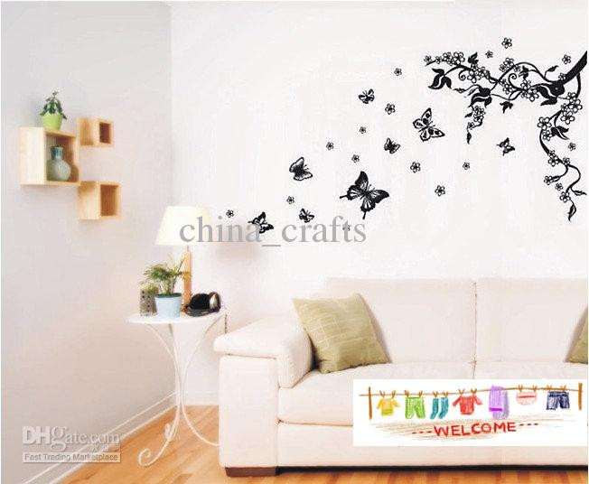 Removable Butterfly Wall Stickers Living Room Wall Stickers Decals - large wall decals for living room