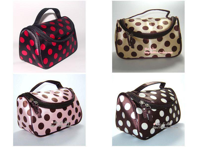 Portable Cosmetic Bag Makeup Bag Storage Bags Nylon