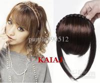 Twist Braid Hair Bands Fake Fringe Wig Hair Bands Belt ...