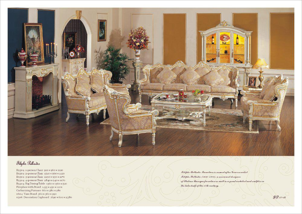 French Style Living Room Set-antique Style Furniture French - antique living room sets