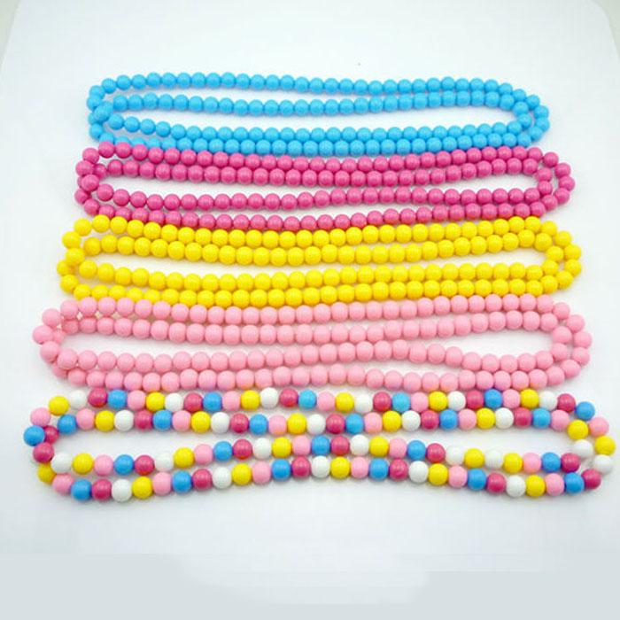 Vintage Children Jewelry Beads Necklaces For Kids Summer