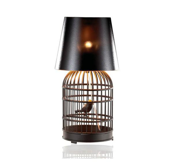 Modern Fashion Personality Creative Stainless Steel Birdcage Table - cheap table lamps for living room