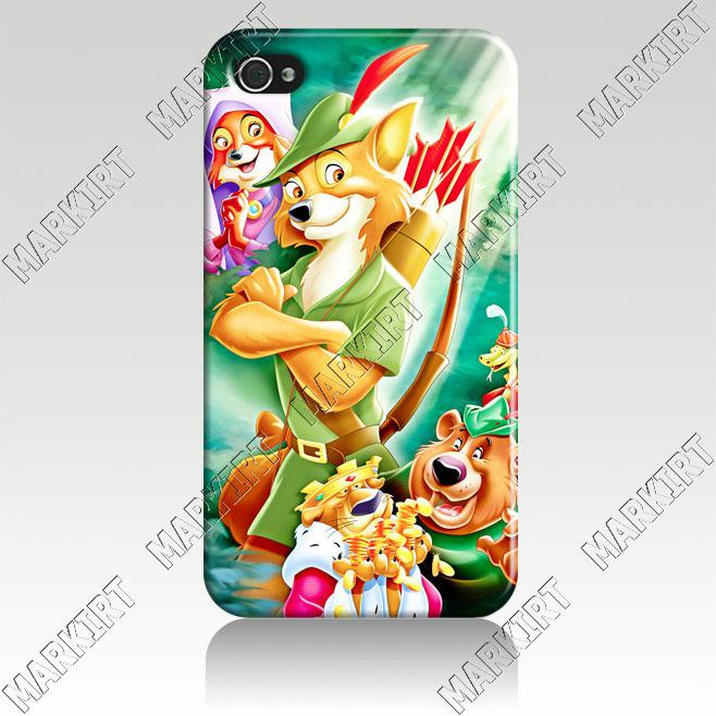 4IZC2163 Robin Hood Walt Hard Case Cover For Iphone 4 4S Fit ATAmp