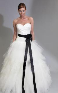 Vintage White And Black Wedding Dresses Princess ...