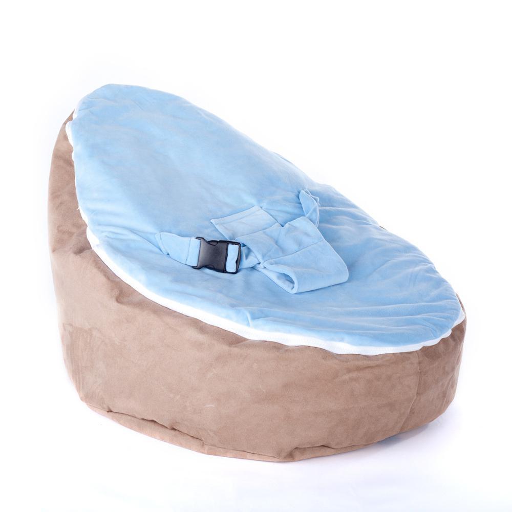 Baby Beanbags Chairs Sofa Brown Fancy Cute Seat Sleeping