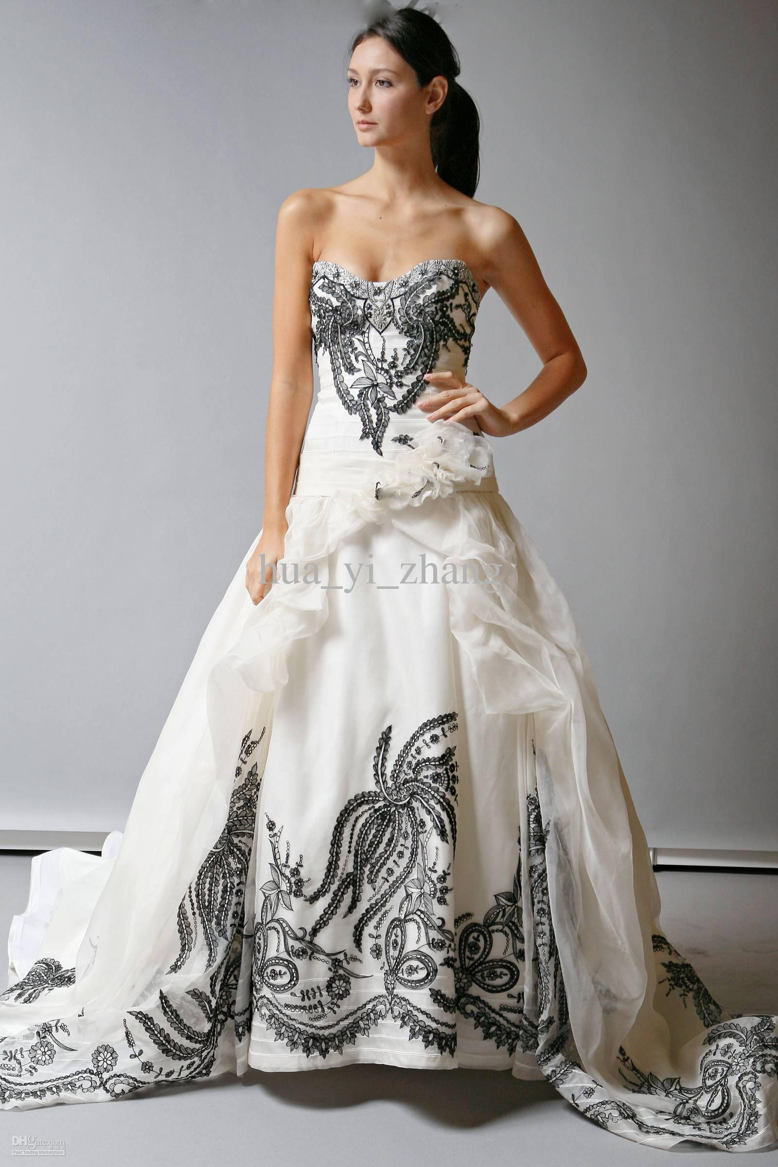 wedding dresses black black wedding gown wedding dresses black and white store 92