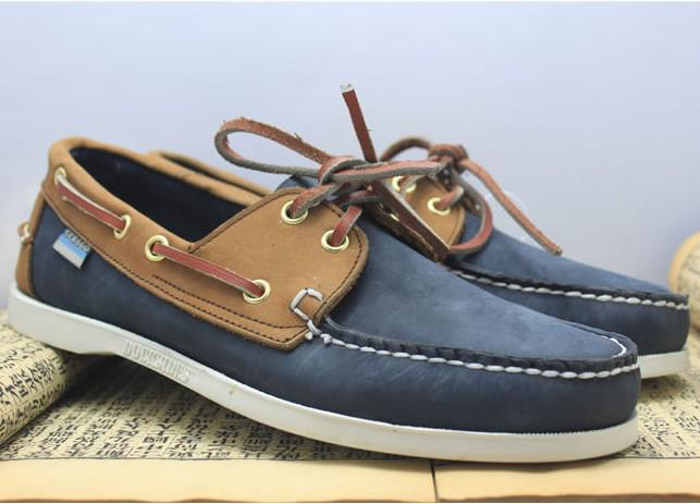 New Designer Casual Boat Shoes Mens Dress Shoes Genuine