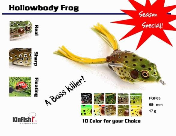 2018 Top Frogs Hollow Body Frog Fgf65 Fishing Lures Soft From - frog body