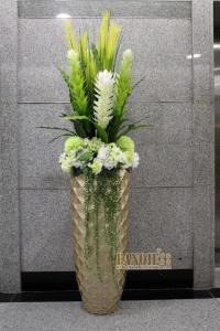 Fashion Floor Vase Set Artificial Flower Set Flower Soft ...