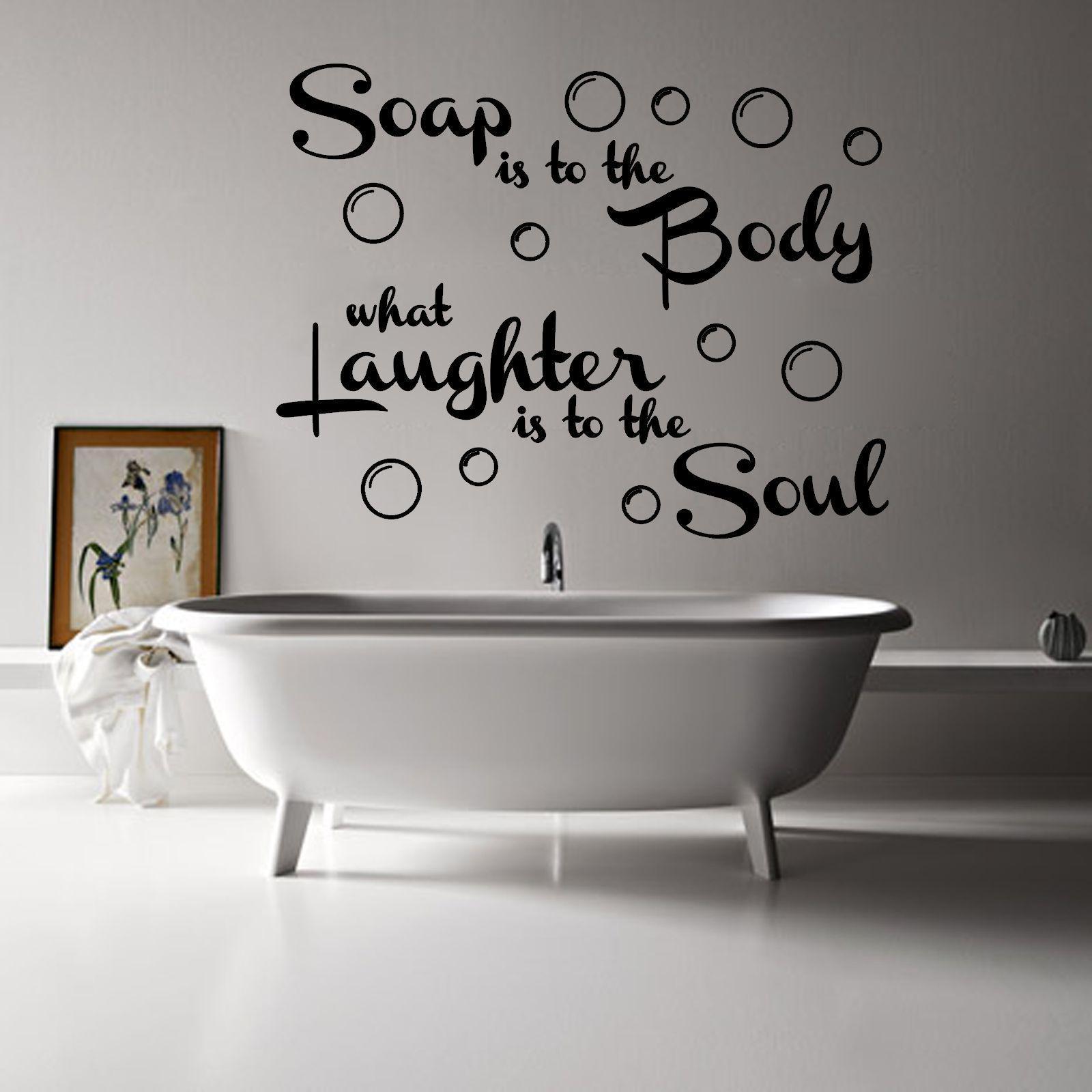 Bathroom wall art quotes makipera home decor
