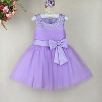 2018 2014 New Toddler Girl Dresses Purple Party Dresses ...