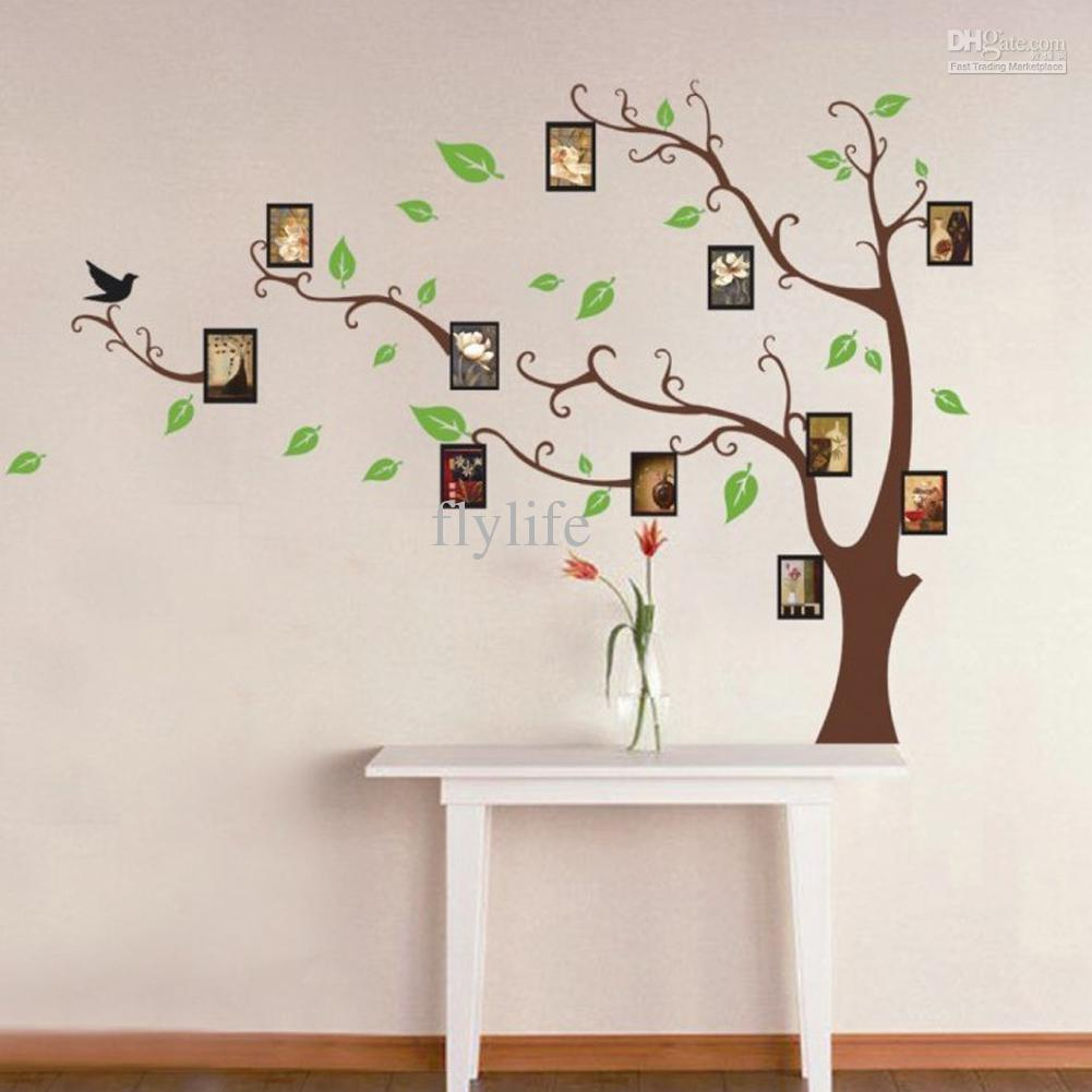 Wall decoration stickers for bedroom -  Wall Decor Stickers Green Leaves On Download