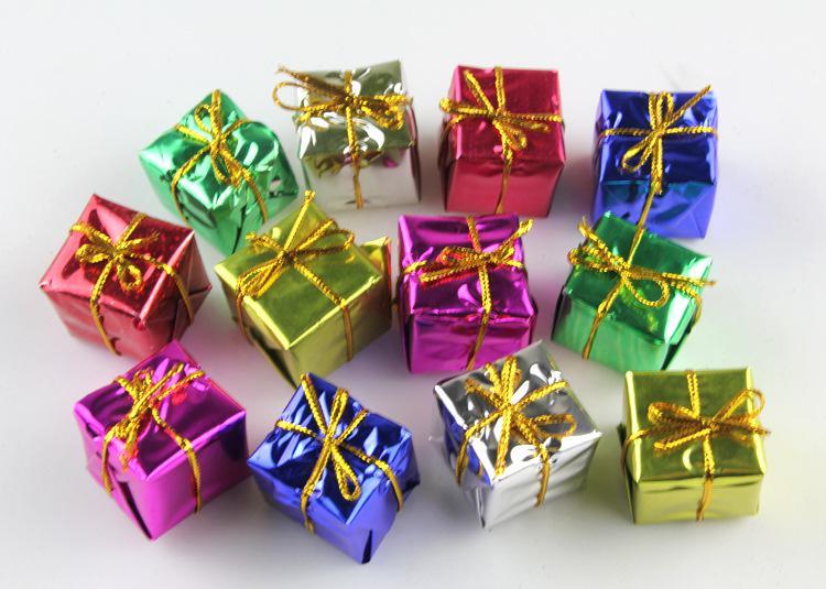Christmas Festive Decoration Props Fashion Christmas Gifts And - small decorative christmas trees
