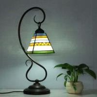Tiffany Glass Lamps Spanish Style Wrought Iron Table Lamp ...