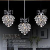 Modern Crystal Chandelier Pendant Light Stair Hanging ...