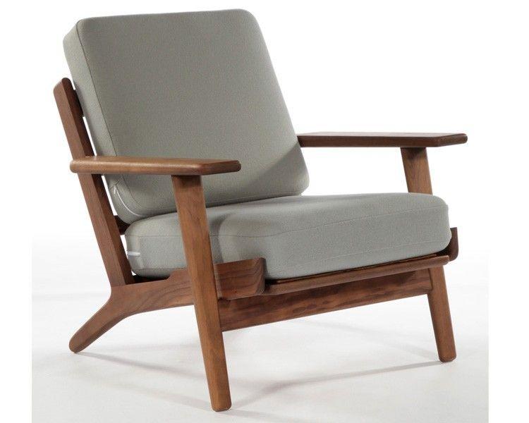 2017 Hans Wegner Armchair,Living Room Chair,Modern Design Chair - modern chairs for living room