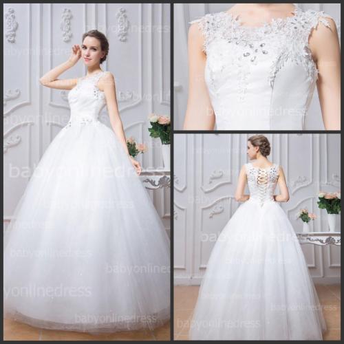 Medium Of White Wedding Dress