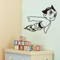 Vinyl Wall Art Stickers Astro Boy Cartoon Decals For Boys ...